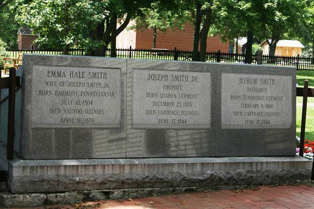 Joseph Smith Grave